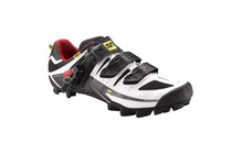 Mavic Rush Schuhe Men white/bright red/black